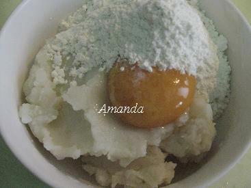 馬鈴薯泥拌麵粉