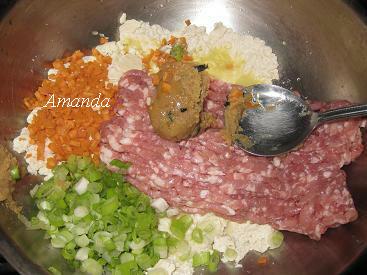 豆腐味噌肉食材