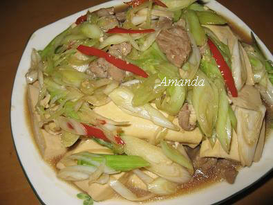 壽喜醬燒豆腐