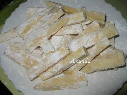 黃金薯條-地瓜薯條 地瓜條裹乾粉