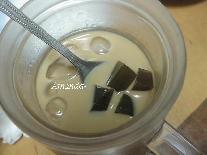 咖啡牛奶+咖啡凍.JPG