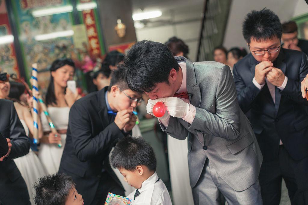 【喜喜】婚禮籌備—很像造勢活動的 迎娶闖關