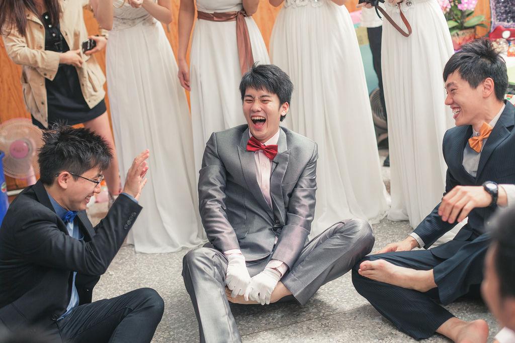 C&H 婚禮籌備 很像造勢活動的 迎娶闖關 懲罰遊戲