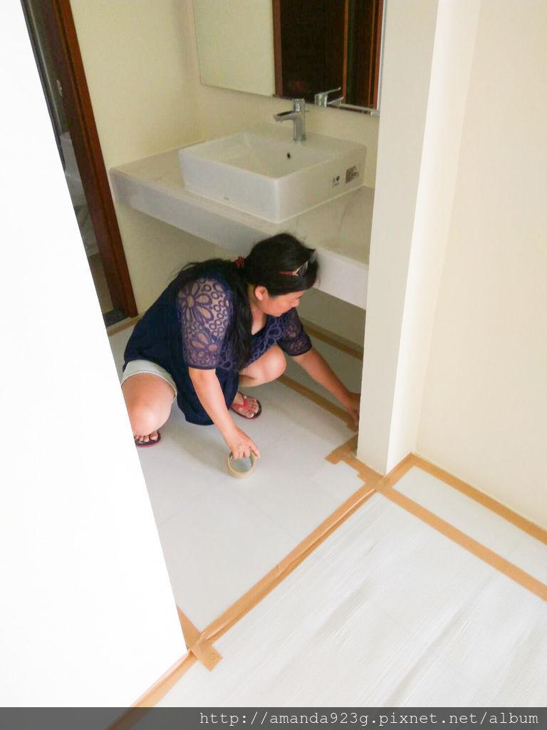 C&H 裝潢日誌 地板保護 天花板拆除 冷氣 全熱交換器