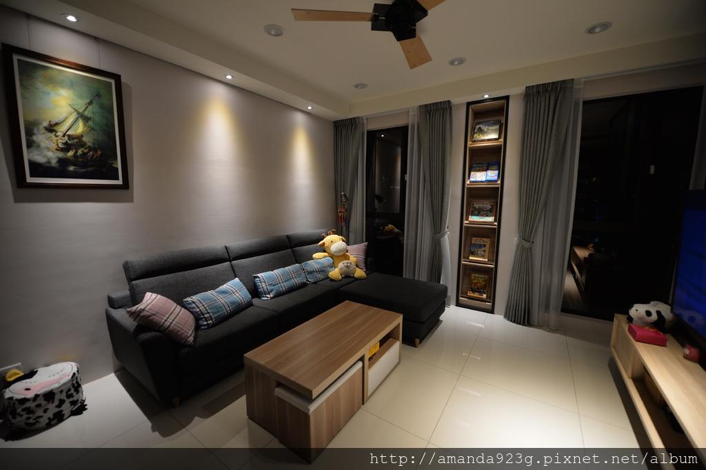 C&H 新家 簡單入厝儀式 新家開箱 客廳