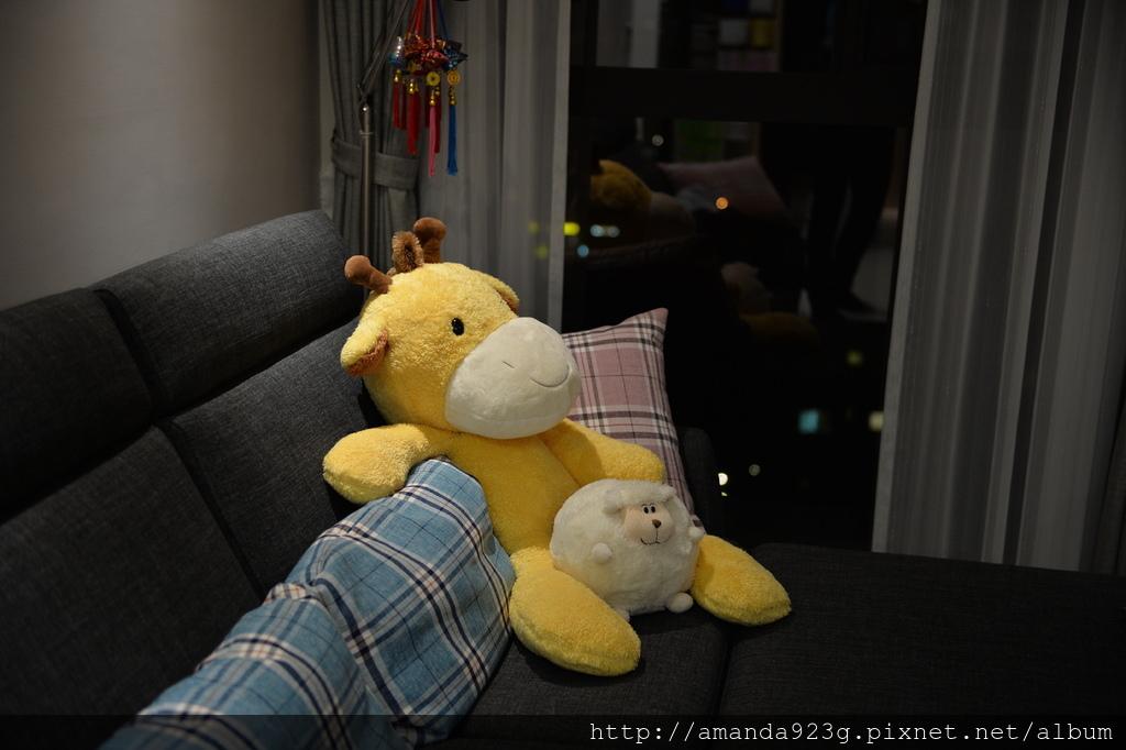 C&H 新家 簡單入厝儀式 新家開箱 客廳 沙發