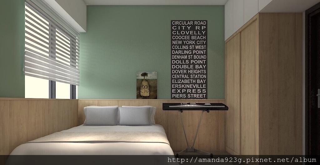 C&H 新家 簡單入厝儀式 新家開箱 3D圖 室內設計