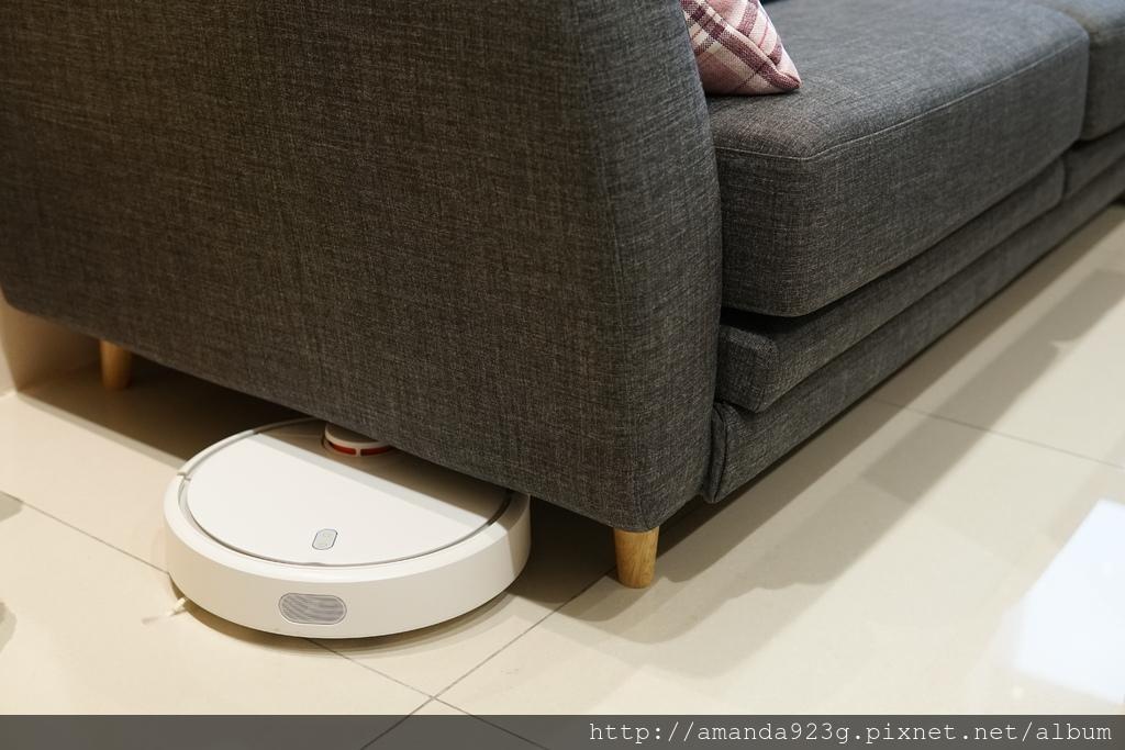 C&H 新家 沙發挑選 汎德沙發 喜悅沙發 小米掃地機器人