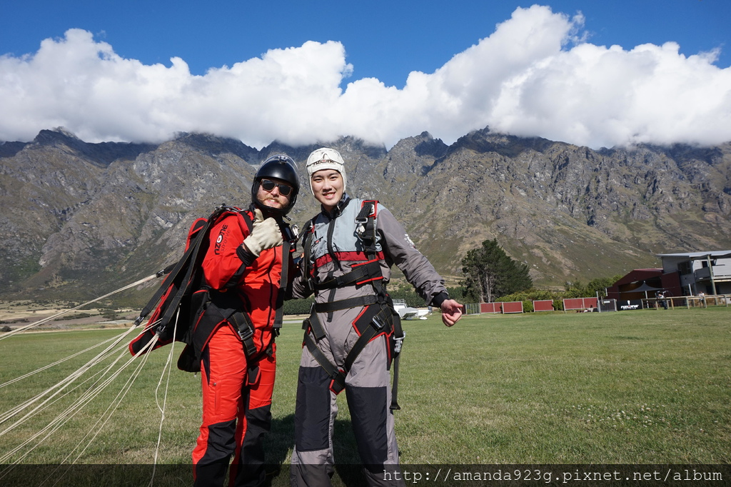 C&H 紐西蘭 雷蒙團 密月 推薦理由 行前準備 skydive 高空跳傘