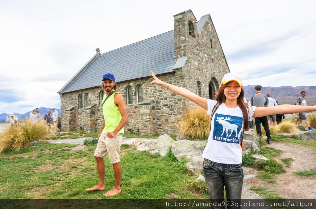 C&H 紐西蘭 蜜月 基督城 堤卡波 約翰山天文台 好牧人教堂