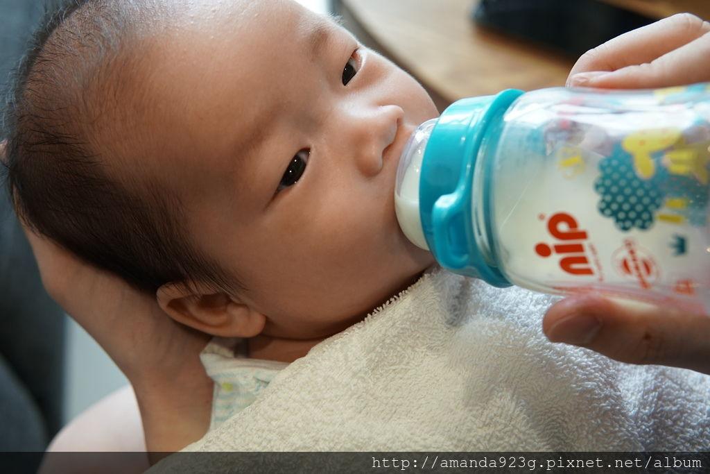 【育兒好物】nip 德國防脹氣玻璃奶瓶中圓旗艦組