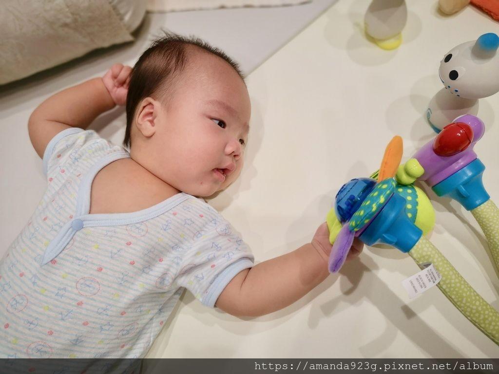 【育兒好物】哄寶寶神器.以色列FunFlex彎彎任意夾吊掛搖鈴
