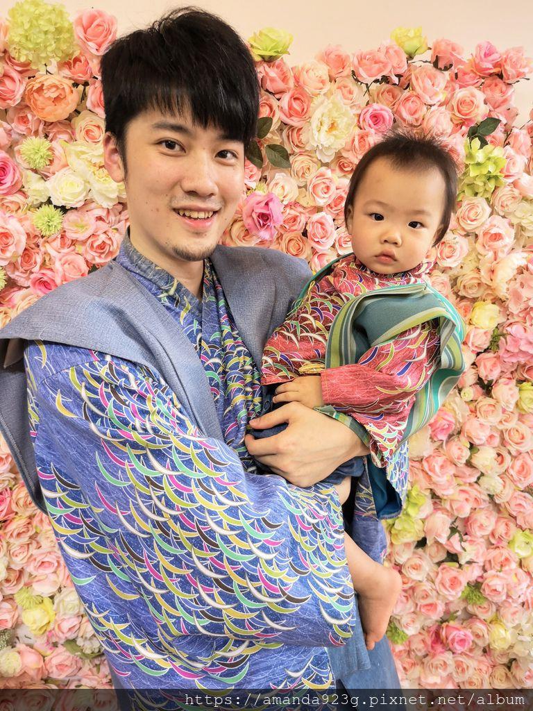【日式抓周】寶寶滿周歲第一次穿和服・大稻埕抓周