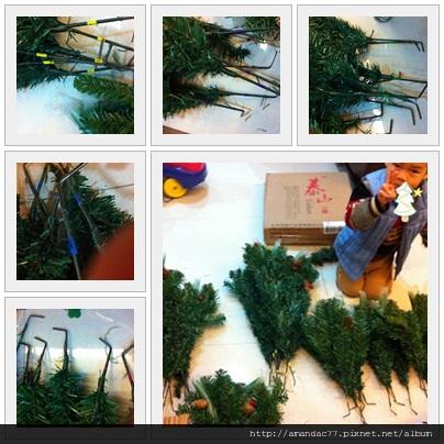 聖誕樹未組裝前.jpg