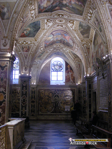 聖安德烈亞大教堂--內部