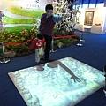 詩情畫意訪古船特展3D抓魚.JPG