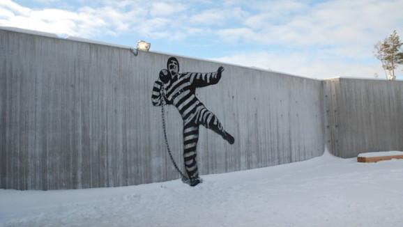 哈爾登監獄塗鴉