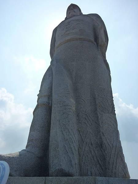 鄭成功石雕像