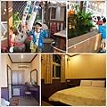 椰林渡假村庭園與房間