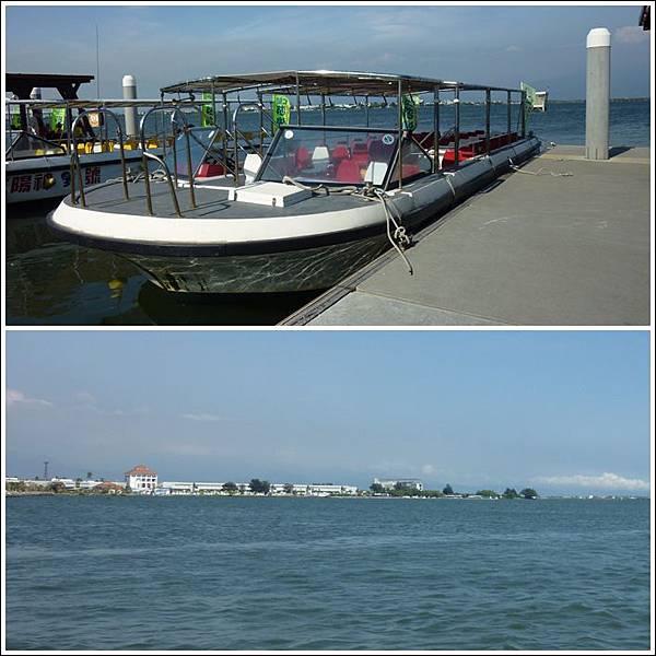 搭船遊潟湖