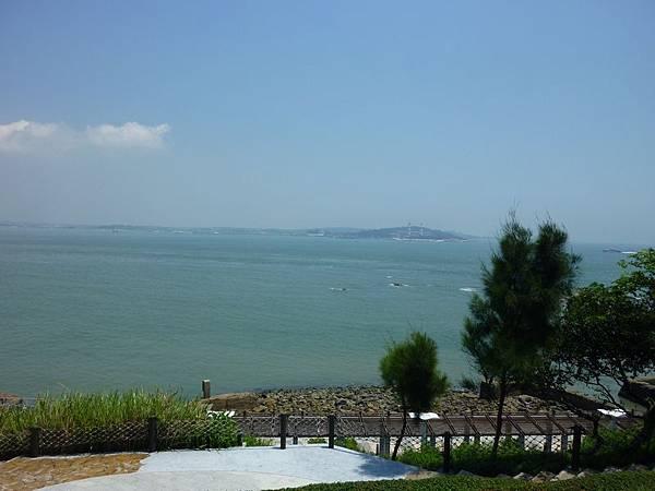 烈嶼遊客中心觀海