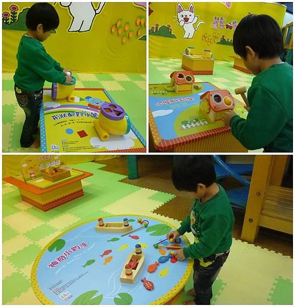 寶寶探索區玩具