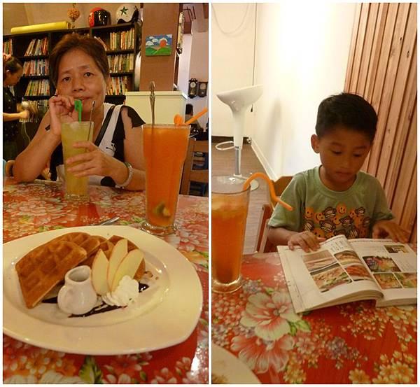 青境花墅親子餐廳餐點