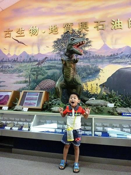 台灣油礦陳列館展區
