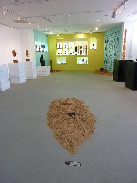 苗栗工藝園區木雕