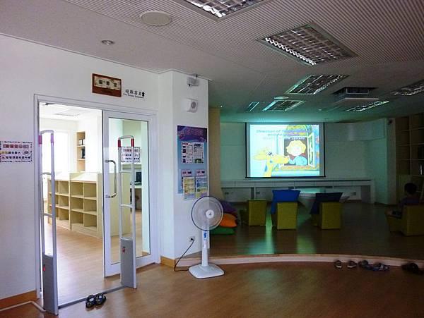 苗栗工藝園區圖書視廳室
