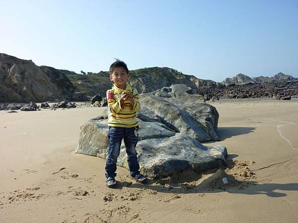 福正沙灘玩沙