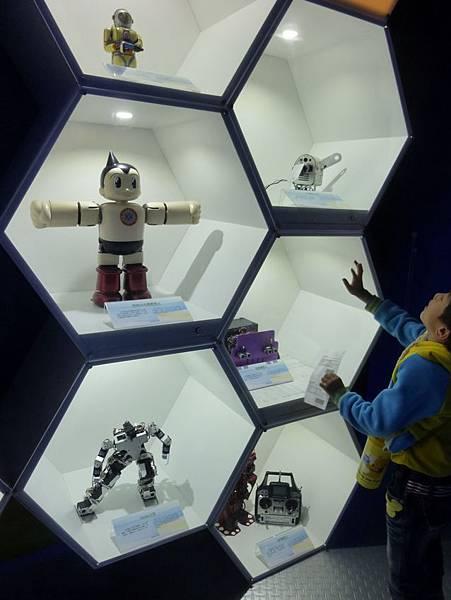 趣味機器人展示區3