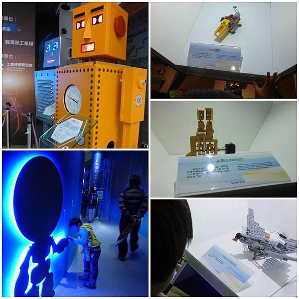 趣味機器人展示區