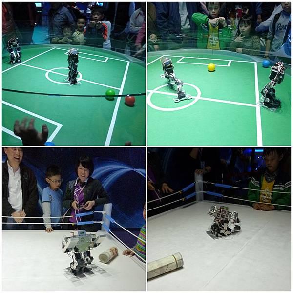 足球格鬥機器人