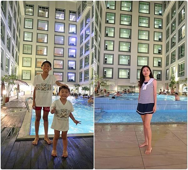 陽光飯店泳池.jpg