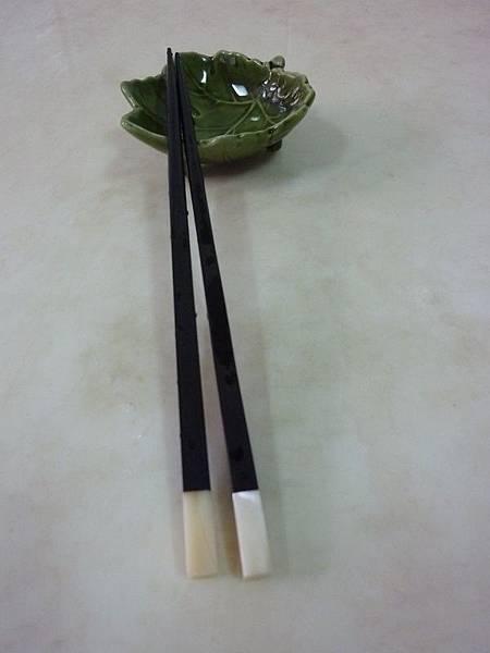 天然貝殼方黑檀木筷.JPG