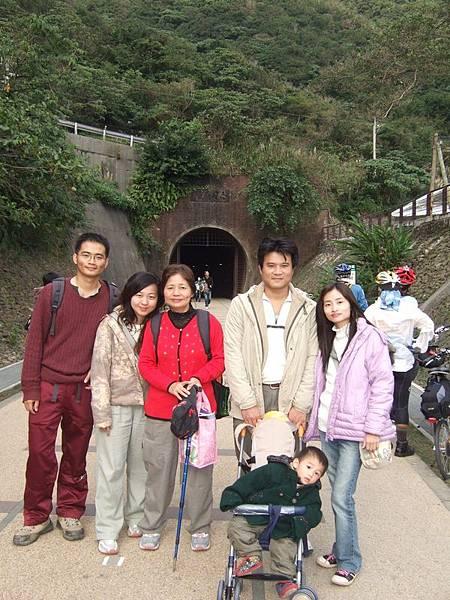 隧道南口合照