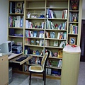 書櫃及圓弧玄關櫃.JPG