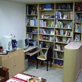 茶水櫃,書櫃及圓弧玄關櫃.JPG