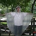 路鳥展示河童雨衣