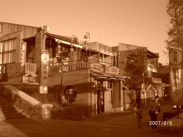 傳藝中心裡的美食街