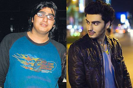 Arjun Kapoor減肥前後