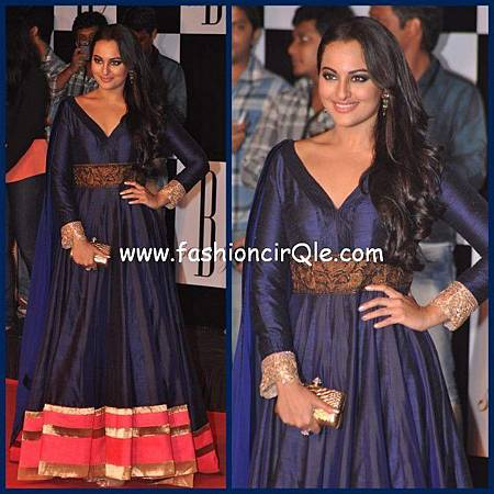Sonakshi-Sinha-in-Manish-Malhotra-at-Amitabh-Bachchans-70th-Birthday-Bash-650x650