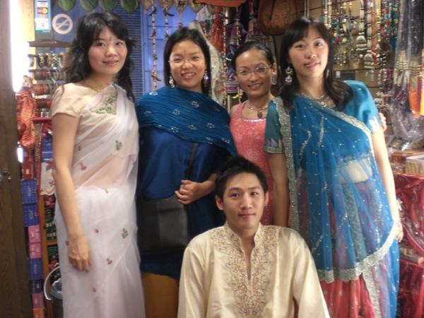 Qing帶朋友跑來拉納玩
