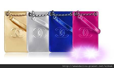 雙C 鏈條包iphone4S/5S 三星小米索尼萬能斜跨包