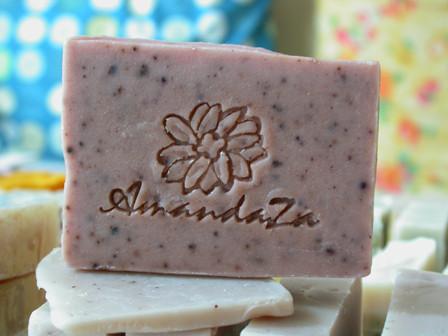 秋紫薰衣皂