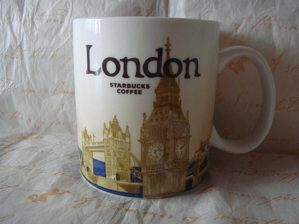 倫敦城市馬克杯 16oz