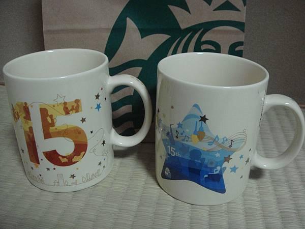 2011 日本星巴克15周年馬克杯