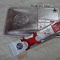 2010 日本聖誕 票卡夾+3包咖啡