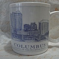 哥倫布建築馬克杯 18oz